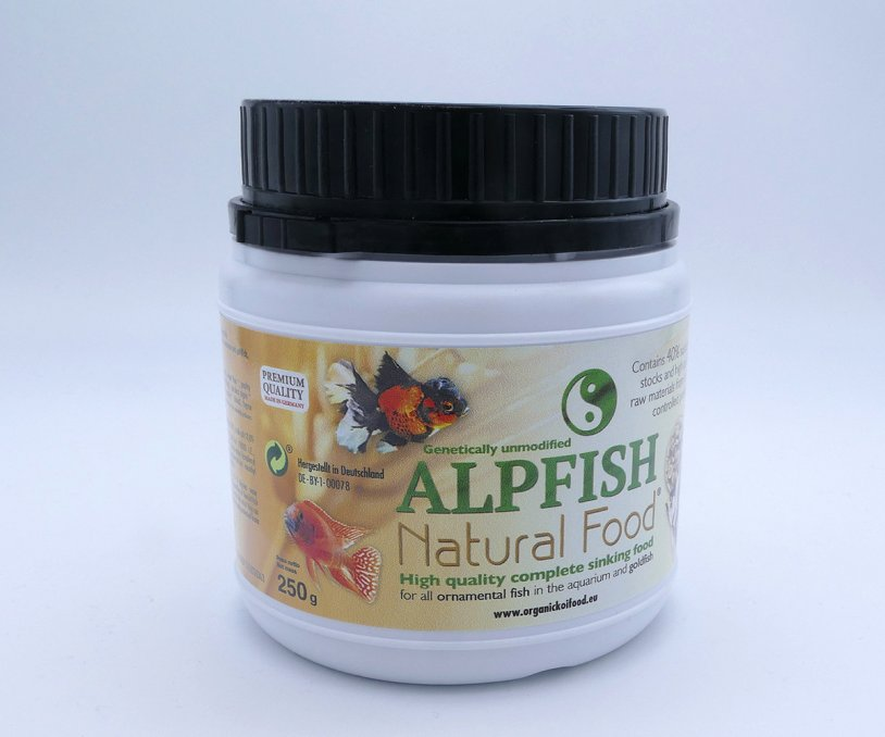 Alpfish Natural Food 250 Gramm 2 mm - sinkendes Futter...